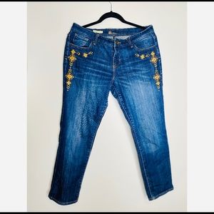 Kut From the Cloth Catherine Boyfriend Jeans boho